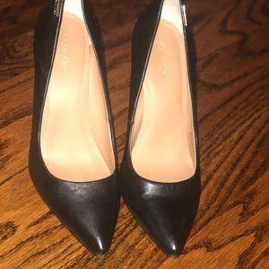 Black Calvin Klein High Heels Pointed Toe